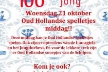 Oud Hollandse spelletjesmiddag bij Liora