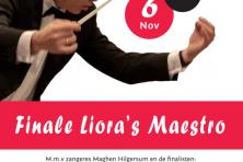Dirigent muziekvereniging Liora slaat door