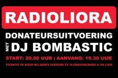 14 oktober: Radio LIORA met DJ Bombastic