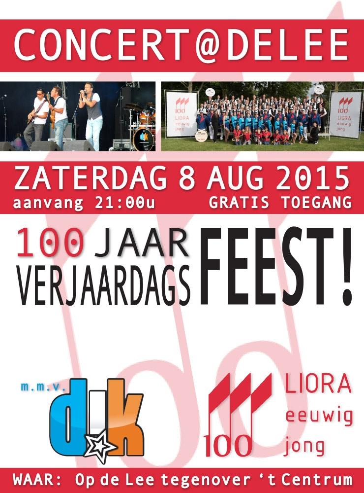 8 Augustus: Concert @ De Lee