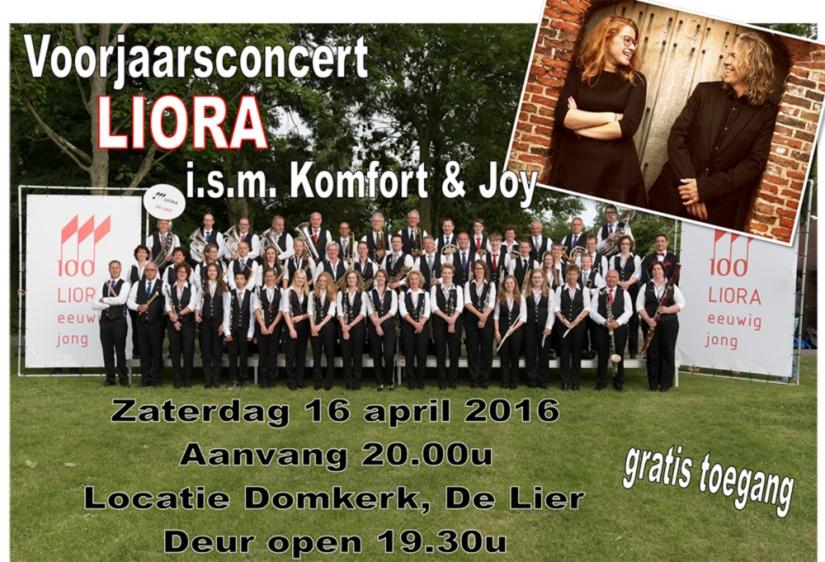 Voorjaarsconcert Muziekvereniging Liora