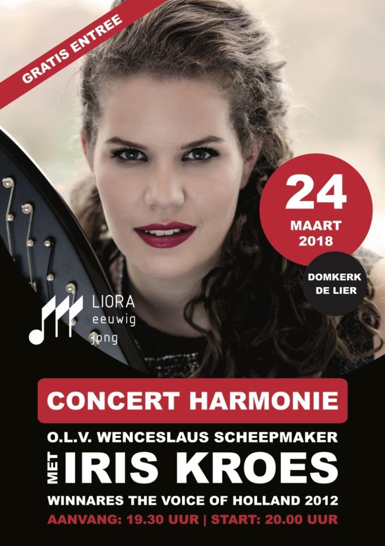 Voorjaarsconcert met Iris Kroes