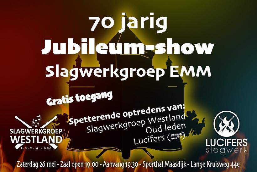 70-jaar Slagwerk Jubileum-show