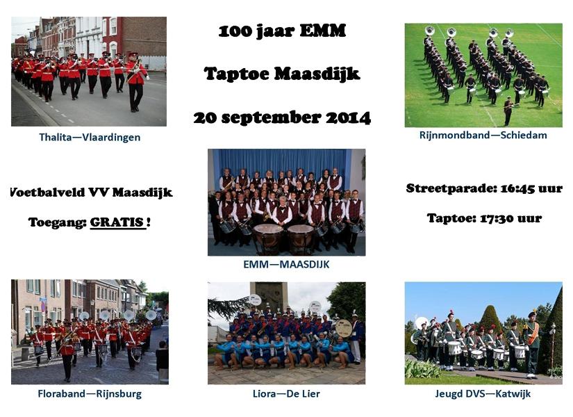 Flyer Taptoe Maasdijk